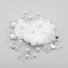 """Combs & Barrettes Wedding/Special Occasion/Party Alloy/Imitation Pearls 5.71""""(Approx.14.5cm) 5.31""""(Approx.13.5cm) Headpieces"""