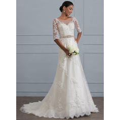 robes de mariée romantiques avec des manches