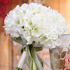 "Bridal Bouquets/Bridesmaid Bouquets Wedding Satin 12.60""(Approx.32cm) 8.66""(Approx.22cm) Wedding Flowers"