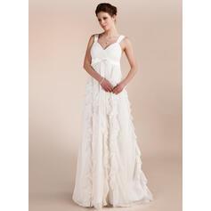 dos nu une ligne robes de mariée