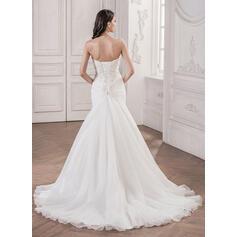 simple elegant knee length wedding dresses