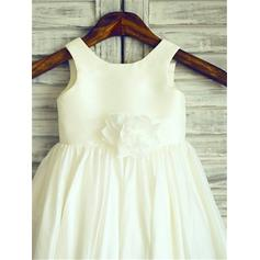 ivory tulle flower girl dresses
