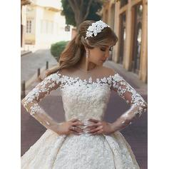 chiffon wedding dresses for women