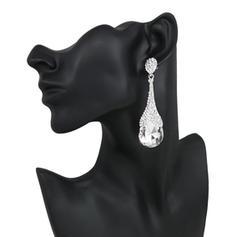 Earrings Alloy/Rhinestones Pierced Ladies' Vintage Wedding & Party Jewelry
