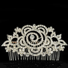 """Combs & Barrettes Wedding/Special Occasion Alloy 4.72""""(Approx.12cm) 2.56""""(Approx.6.5cm) Headpieces"""