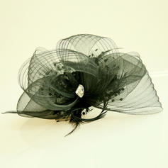 """Forehead Jewelry/Hats Wedding/Special Occasion/Party Net Yarn 6.69""""(Approx.17cm) 5.12""""(Approx.13cm) Headpieces"""