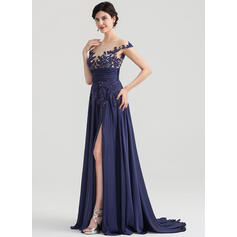 plus size pink evening dresses