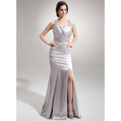 Trumpet/Mermaid Charmeuse Sweetheart Sleeveless Evening Dresses