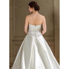 más el tamaño de plata vestidos de novia de invierno