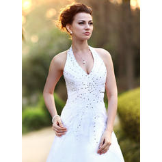 scoop mermaid wedding dresses
