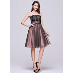 cheap short strapless homecoming dresses