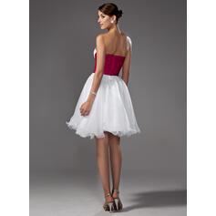 robes de mariée rouges simples
