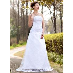 vakre blonder brudekjoler