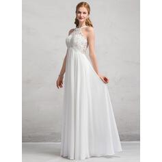 hvide simple brudekjoler