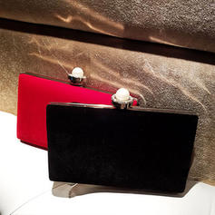 """Clutches Wedding/Ceremony & Party Velvet Clip Closure 7.48""""(Approx.19cm) Clutches & Evening Bags"""