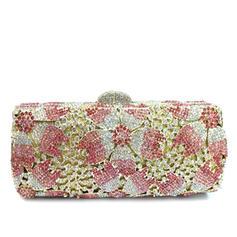 Handtaschen/Braut Geld-Beutel/Luxus Handtaschen Hochzeit/Zeremonie & Party Kristall / Strass/Vergoldet Stutzen Verschluss Zarte Clutches & Abendtaschen
