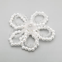 "Combs & Barrettes Wedding/Special Occasion/Party Alloy/Imitation Pearls 4.13""(Approx.10.5cm) 4.13""(Approx.10.5cm) Headpieces"