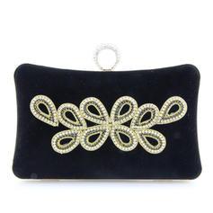 Handtaschen Hochzeit/Zeremonie & Party Satin Stutzen Verschluss Elegant Clutches & Abendtaschen