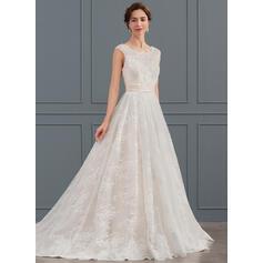 robes de mariée rose millénaire