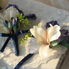 "Wrist Corsage/Boutonniere Wedding Ribbon 4.72""(Approx.12cm) Color & Style representation may vary by monitor/Not responsible for typographical or pictorial errors. Wedding Flowers"