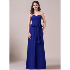 Sweetheart A-Line/Princess Chiffon Sleeveless Bridesmaid Dresses (007061170)