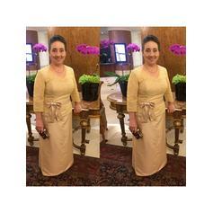 Corte A/Princesa Escote en V Tafetán Chic Vestidos de madrina (008212751)