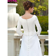wedding dresses for short thick brides