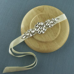 "Headbands Wedding/Special Occasion Satin 5.31""(Approx.13.5cm) 1.57""(Approx.4cm) Headpieces"