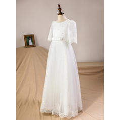 chiffon flower girl dresses for wedding