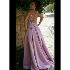 prom dresses crop top and skirt