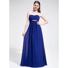 Sweep Train Chiffon Empire Sweetheart Prom Dresses (018025595)