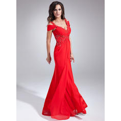 red sparkly evening dresses