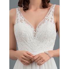 tan colored wedding dresses