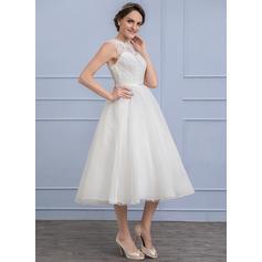 robes de mariée de sirène modestes