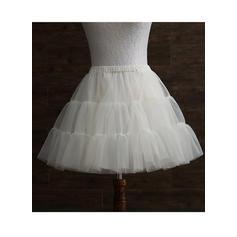 Petticoats Tulle Netting/Taffeta A-Line Slip 2 Tiers Wedding Petticoats