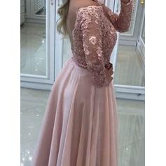pretty prom dresses with sleeves