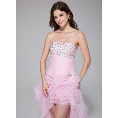 Organdí Moda Corte A/Princesa Asimétrico Vestidos de baile de promoción (018025506)