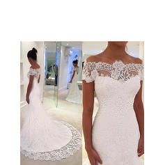 short casual white wedding dresses