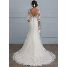 robes de mariée de robe de bal de satin