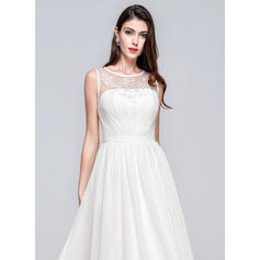 ¡vestidos de novia de encaje de manga larga baratos