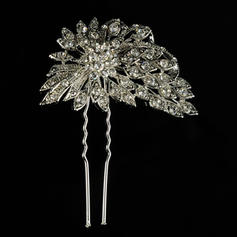 "Hairpins Wedding/Special Occasion/Casual/Outdoor/Party Rhinestone/Alloy 2.95""(Approx.7.5cm) 2.36""(Approx.6cm) Headpieces"