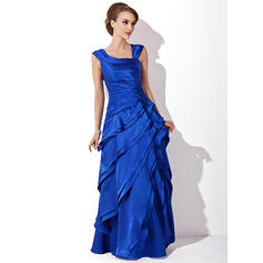 A-Line/Princess V-neck Charmeuse Magnificent Mother of the Bride Dresses (008211213)