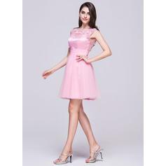 plus størrelse homecoming kjoler med ærmer