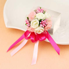 "Wrist Corsage Hand-tied Wedding Foam 2.76""(Approx.7cm) Wedding Flowers"