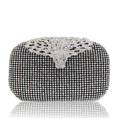 "Clutches Ceremony & Party Crystal/ Rhinestone Fashional 7.09""(Approx.18cm) Clutches & Evening Bags"