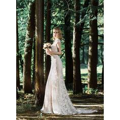 robes de mariée formelles de grandes filles