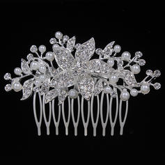 "Combs & Barrettes Wedding/Special Occasion/Party Alloy 3.15""(Approx.8cm) 2.17""(Approx.5.5cm) Headpieces"
