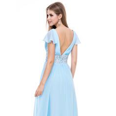 vestidos de noche formales azules