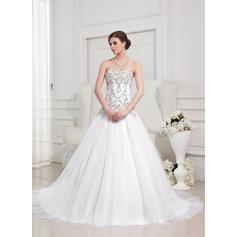 con cuentas madre larga 0f vestidos de novia