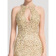 red short open back prom dresses